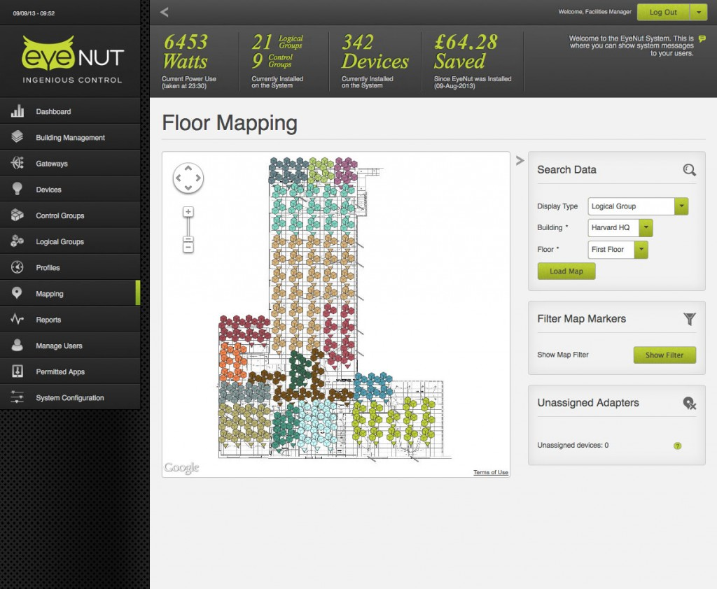 Software mapping