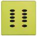 10 button 2.5cm